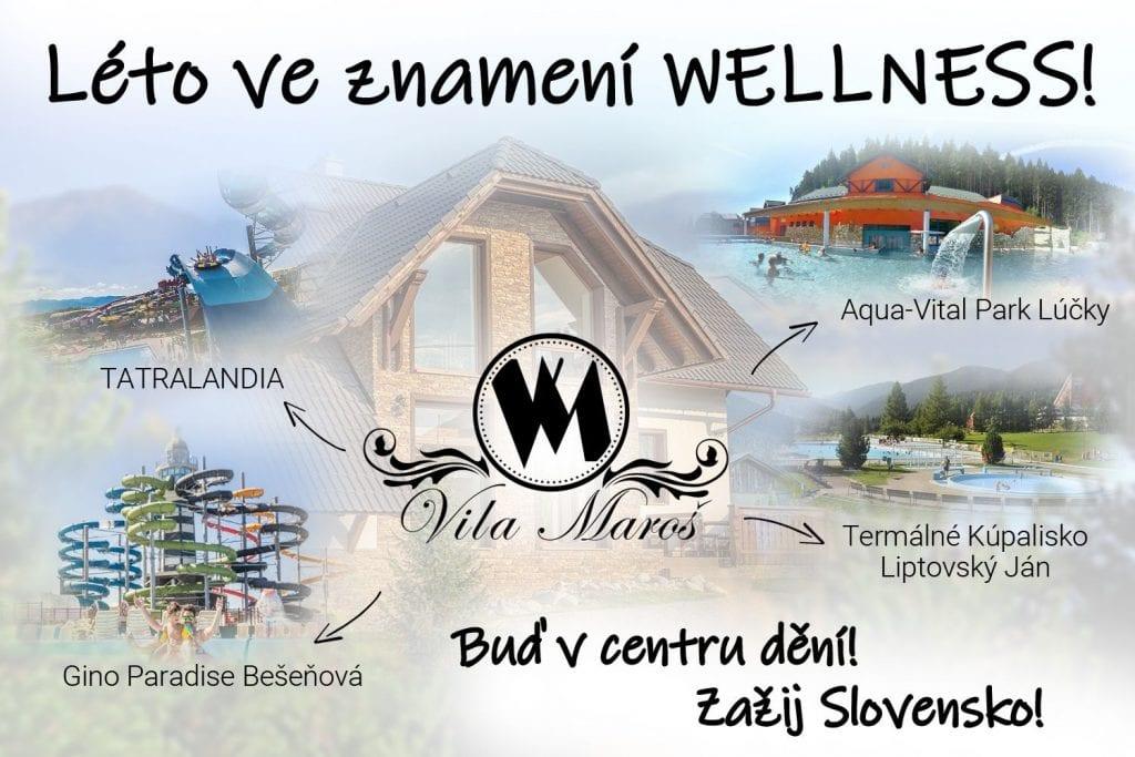 Wila Marros - wellness na Slovensku